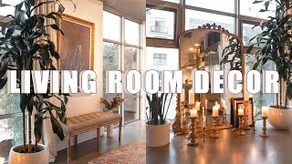HOW TO DECORATE LIVING ROOM AND ENTRY WAY | STYLE, DESIGN, INSPIRATION