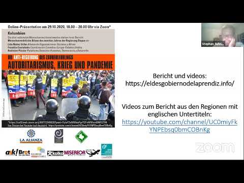 Autoritarismus, Krieg und Pandemie. Menschenrechtliche Bilanz des zweiten Regierungsjahrs Duque