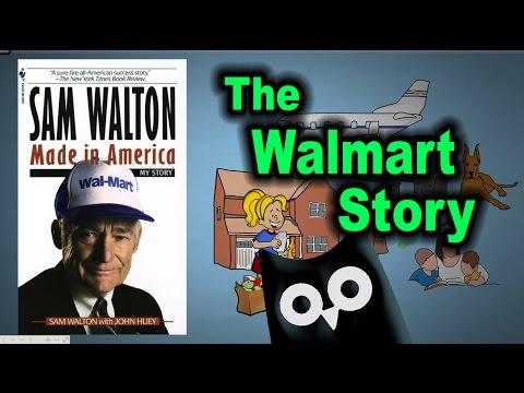 SAM WALTON: Made In America — Animated Book Review