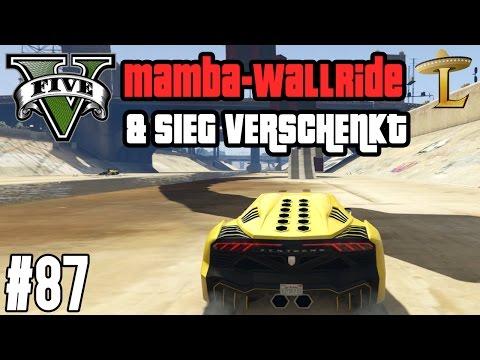 NEUER MAMBA-WALLRIDE & SIEG VERSCHENKT ! (+DOWNLOAD) | GTA V - CUSTOM MAP RENNEN