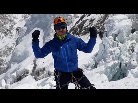 Rescataron al cordobés que sufrió un edema pulmonar en la cima del Everest