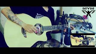 Gitar akustrik elektrik model APX 500ll Banyak Bonusnya