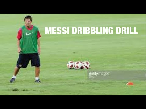 THE MESSI DRIBBLING DRILL |