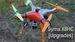 Syma X8HC [FPV & 1080p HD Video Upgrades]