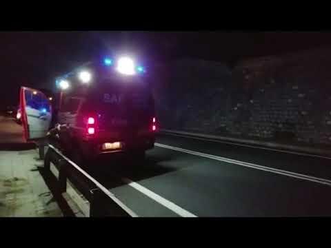 SOCCORSO IERI SERA ALLA MORTOLA PER UN FRANCESE CADUTO SUGLI SCOGLI