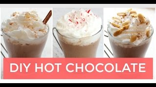 3 Homemade Hot Chocolate Recipes | Clean Eating Recipe
