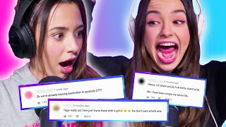 REACTING TO YOUR COMMENTS 💀| Twin My Heart The PODCAST w/ The Merrell Twins