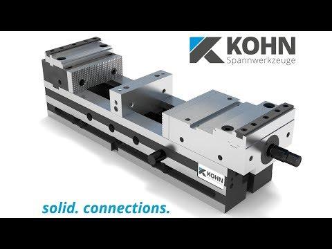 Maschinenschraubstock NCS 125/470 M-HD der Kohn Spannwerkzeuge GmbH