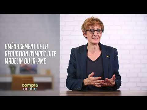 Aménagement de la réduction d'impôt dite Madelin ou IR-PME