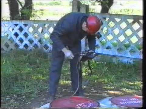 Действие АДС по устранению заявки Запах газа в колодце