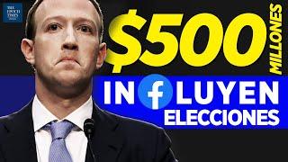 $500M de Zuckerberg usados para socavar las elecciones; 6 tipos de irregularidades | Al Descubierto