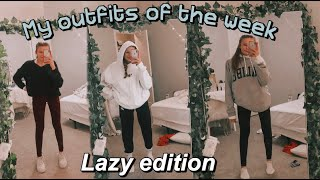 My Outfits Of The Week For School (lazy Edition Part 2)