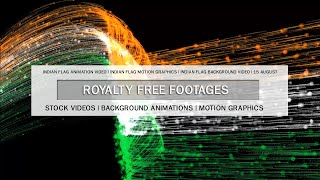 Indian flag HD background video, Indian flag motion graphics, Indian flag animation background video