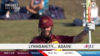 Lynn continues World Cup push with another ton