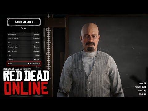 Red Dead Online Character Creation Gameplay - смотреть