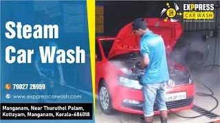 Benefits of Steam Car Wash
