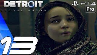 Detroit Become Human - Gameplay Walkthrough Part 13 - Night of The Soul & Android War (PS4 PRO)