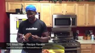 T25 - Meal Plan Review - The 25 KEEP IT REAL FOODS