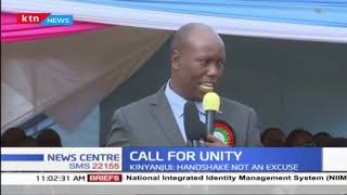 Nakuru Governor Lee Kinyanjui calls for DP Ruto to be respected amidst calls for his impeachment