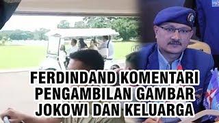Beredar Video Pengambilan Gambar Jokowi dan Keluarga, Ferdinand Hutahaean Bandingkan dengan SBY