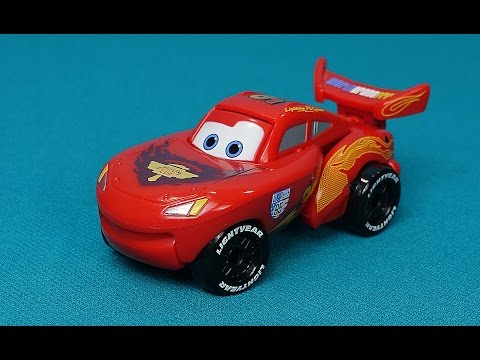 The Cars In English. My New Toy Lightning McQueen. Transformer McQueen From An Egg