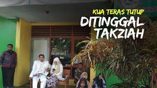 Akad Nikah Molor Gara-gara KUA Tutup Ditinggal Takziah, Keluarga Kecewa Banyak Tamu yang Pulang