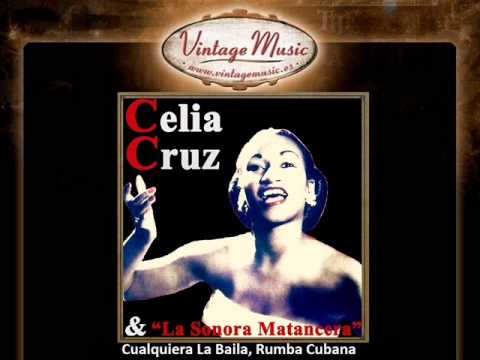 Celia Cruz -- Cualquiera La Baila, Rumba Cubana (VintageMusic.es)