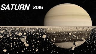 REAL Footage and Sound of Saturn. (New/2016)
