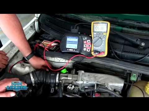 Diagnóstico del sensor de posición del acelerador (sensor TPS)