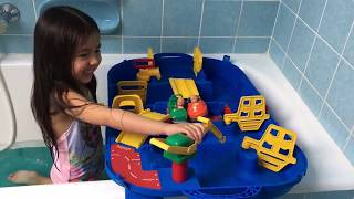 Aquaplay Toy blog by Dianne. German Deutsch Version Wasserspiel Wasserspass Water Toy 516