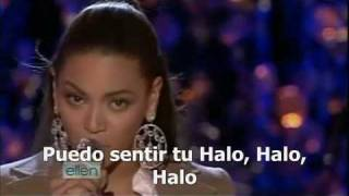 Beyoncé Halo Spanish