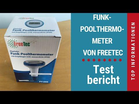 ᐅ Unboxing- und Test-Video des digitalen FreeTec Teich- und Poolthermometers von PEARL ☑