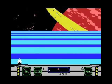 Moonsweeper (1985, MSX, Imagic)