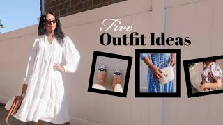 MODEST LOOKBOOK | 5 SUMMER OUTFIT IDEAS FOR APOSTOLIC WOMEN.