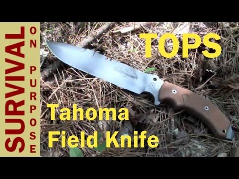 TOPS Tahoma Field Knife Review – Best Survival Knives