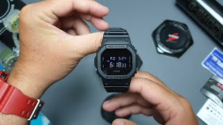 Unboxing & Cara Setting G-SHOCK DW-5600BB (indonesia)