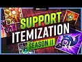NEW SUPPORT Itemization Guide for Season 11 Preseason! - League of Legends