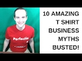 Top 10 Myths in Selling T Shirts Online Designed in Canva or Photoshop on TeeSpring and Redbubble!