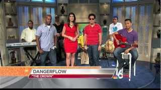 Dangerflow performing 'The Crown' on NBC 6 In The Mix