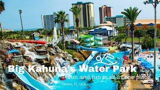 Big Kahunas Water Park, Destin, FL #Summer Vacation