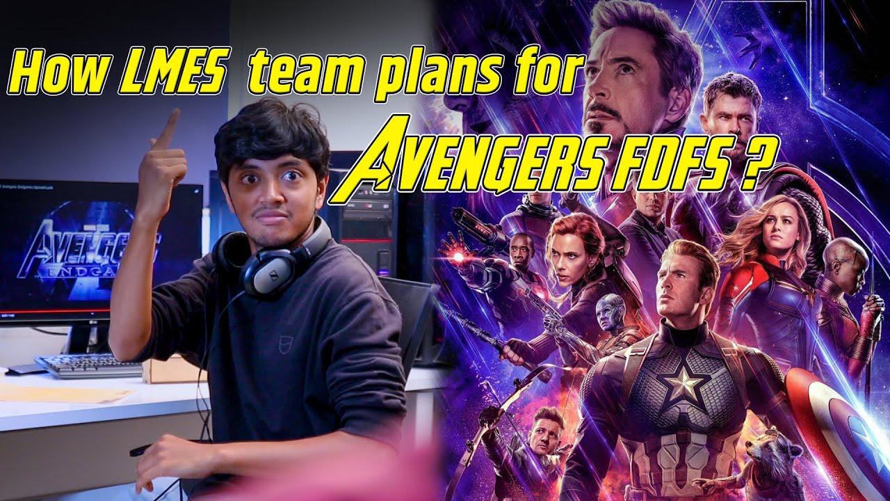 How LMES team plans for Avengers FDFS? | Morse code | BigBang Workshop