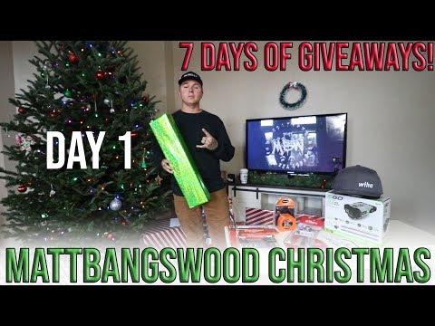 MattBangsWood Christmas GIVEAWAY - Day 1!