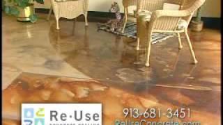 Color Concrete Stains, Concrete Sealer, Concrete Cleaner Www.SealGreen.com 800-997-3873