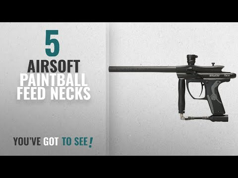 Top 10 Airsoft Paintball Feed Necks [2018]: Spyder Fenix Electronic Paintball Marker (Black)