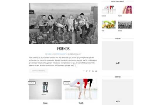 Wp Horizon- Responsive Wordpress Theme