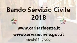 SPOT – Bando Servizio Civile 2018