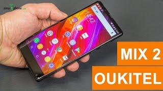 Смартфон Oukitel MIX 2 6/64GB Blue от компании Cthp - видео 1