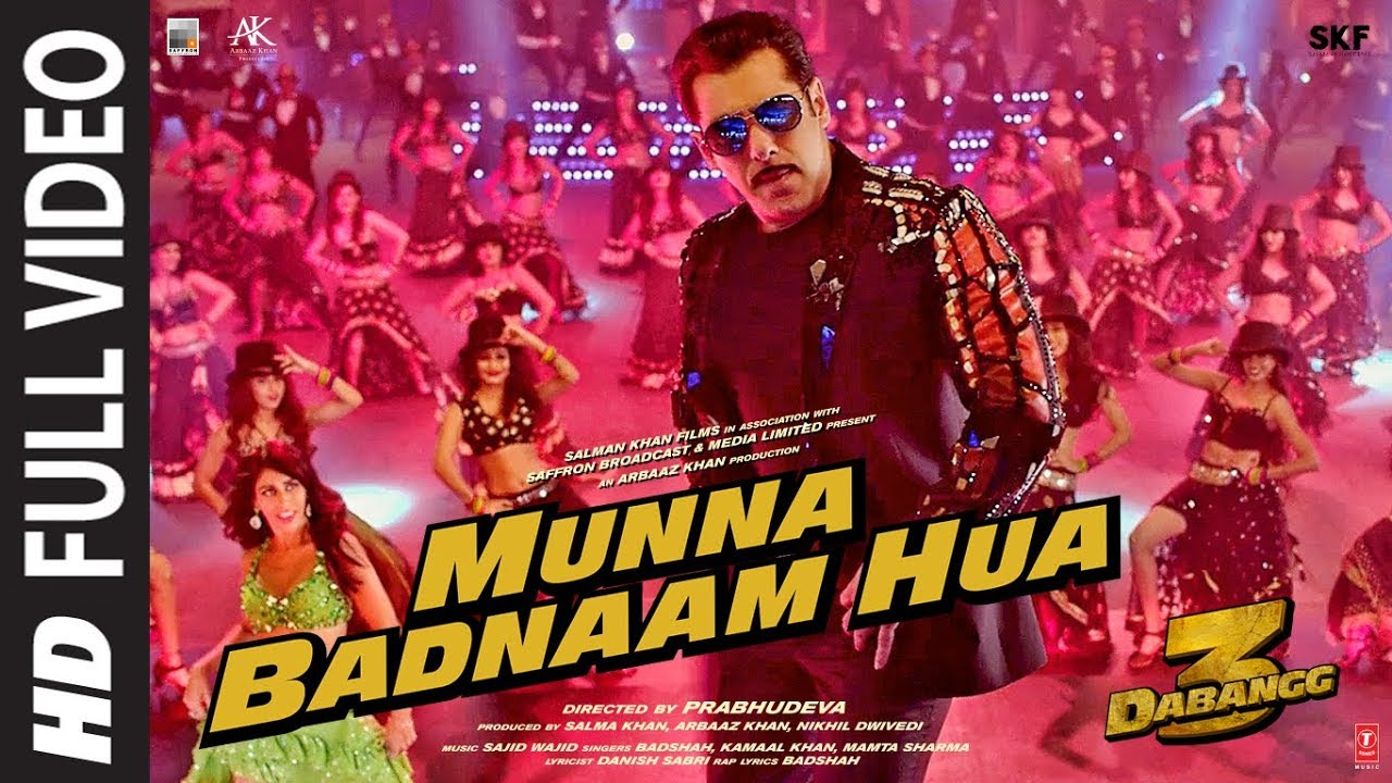Munna Badnaam Hua – Badshah, Mamta Sharma, Kamaal Khan ~ English Translation