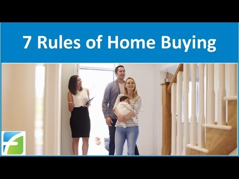 7 Rules of Home Buying