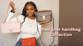 My DESIGNER HANDBAG COLLECTION | Louis Vuitton & Chanel Classic Flap, WOC, LV Pochette Métis